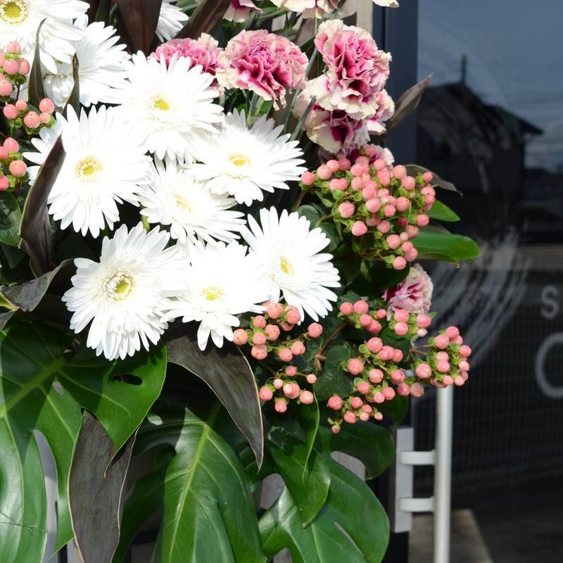 生花スタンドお祝い花